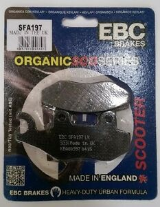 KYMCO-DINK-200-2006-to-2015-EBC-Arriere-Disque-frein-PLAQUETTES-SFA197-1