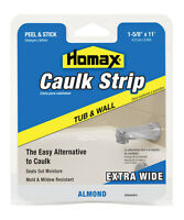 Homax Silicone Caulk Strips Almond 1-5/8 In. X 11 Ft.
