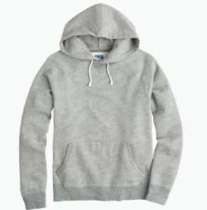 Hombre Nueva J French Tamao Terry pequeo Pullover crew Grey Graphite Hoodie Heather UUHnwEg1q