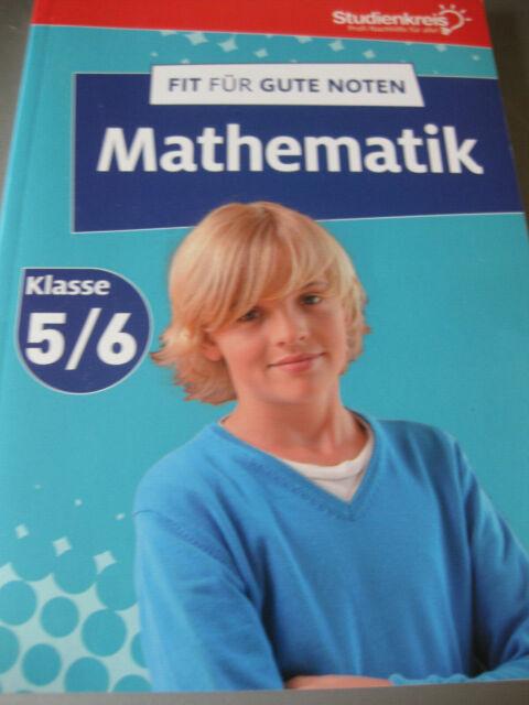 Studienkreis - Fit für gute Noten - Mathematik 5/6 Klasse - unbenutzt