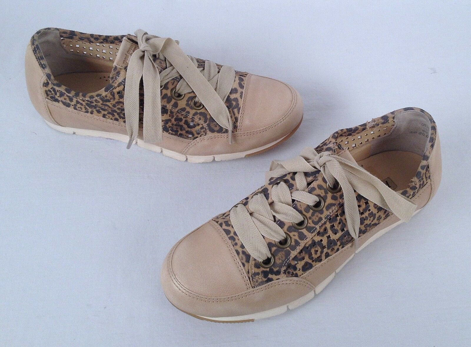 Paul Green Women Leopard 'Posh' Sneaker -Size US 6 US  Aus 3.5-  298  (P1)
