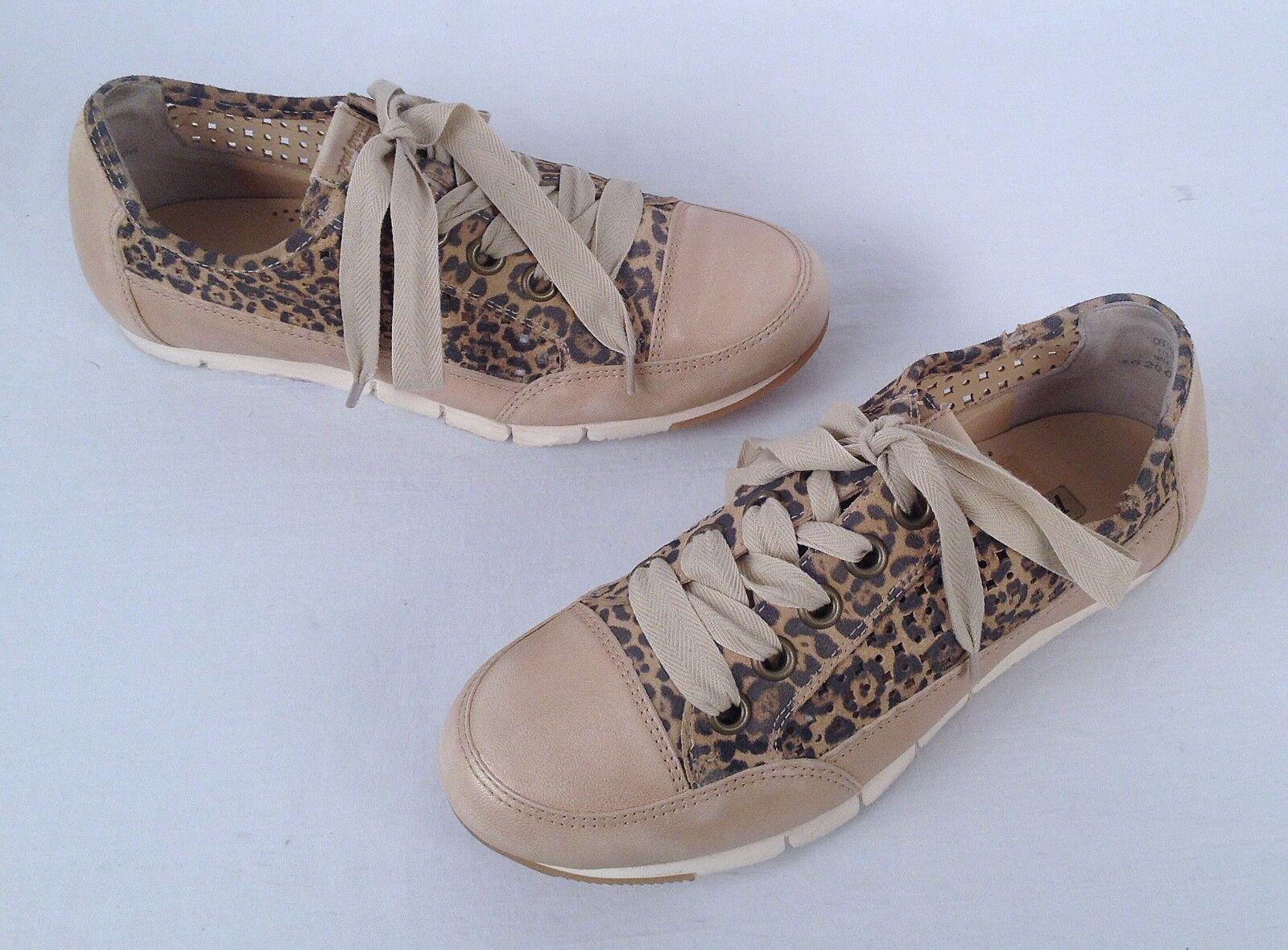 Paul vert femmes Leopard 'Posh' baskets -Taille US 6 US  Aus 3.5-  298  (P1)