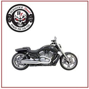 Pot-D-039-Echappement-4-034-Slip-On-2-1-Chrome-N-Sportster-Harley-XL-883-1200-09-17