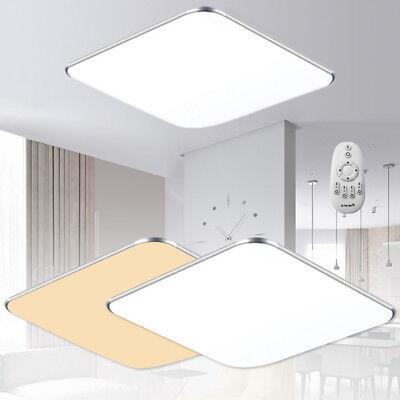 24W Dimmbar LED Deckenleuchte Bad Flur Wandleuchte Deckenlampe mit Fernbedienung