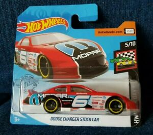 2019 Hot Wheels HW RACE DAY 5//10 Dodge Charger Stock Car 76//250