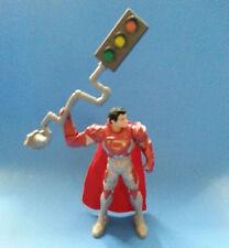 "SUPERMAN MAN OF STEEL Power Attack Deluxe Stoplight Strike 6"" Figure"