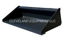 New 60 Long Bottom Bucket Skid Steer Loader Attachment Terex Thomas Volvo Gehl