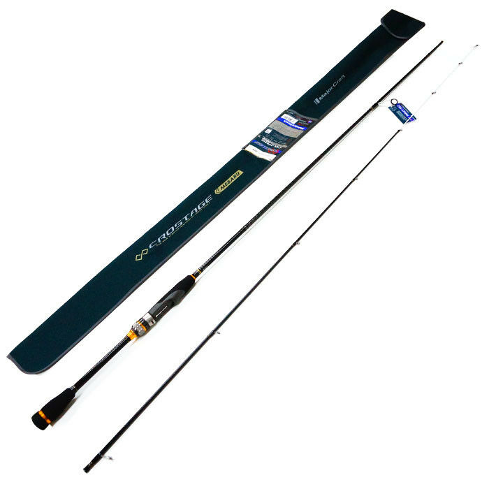 Major Craft CROSTAGE 2 piece rod  CRX-S792UL SOLID TIP