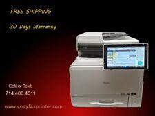 Ricoh Mp C307 Color Copier Printer Scanner Free Shipping