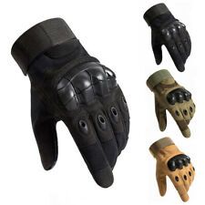 Tactical Knuckle Gloves Protective Wear Heavy Duty Work Safety General Utility