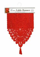 Ritz Lace Table Runner, 13 By 54-inch, New, Free Shipping