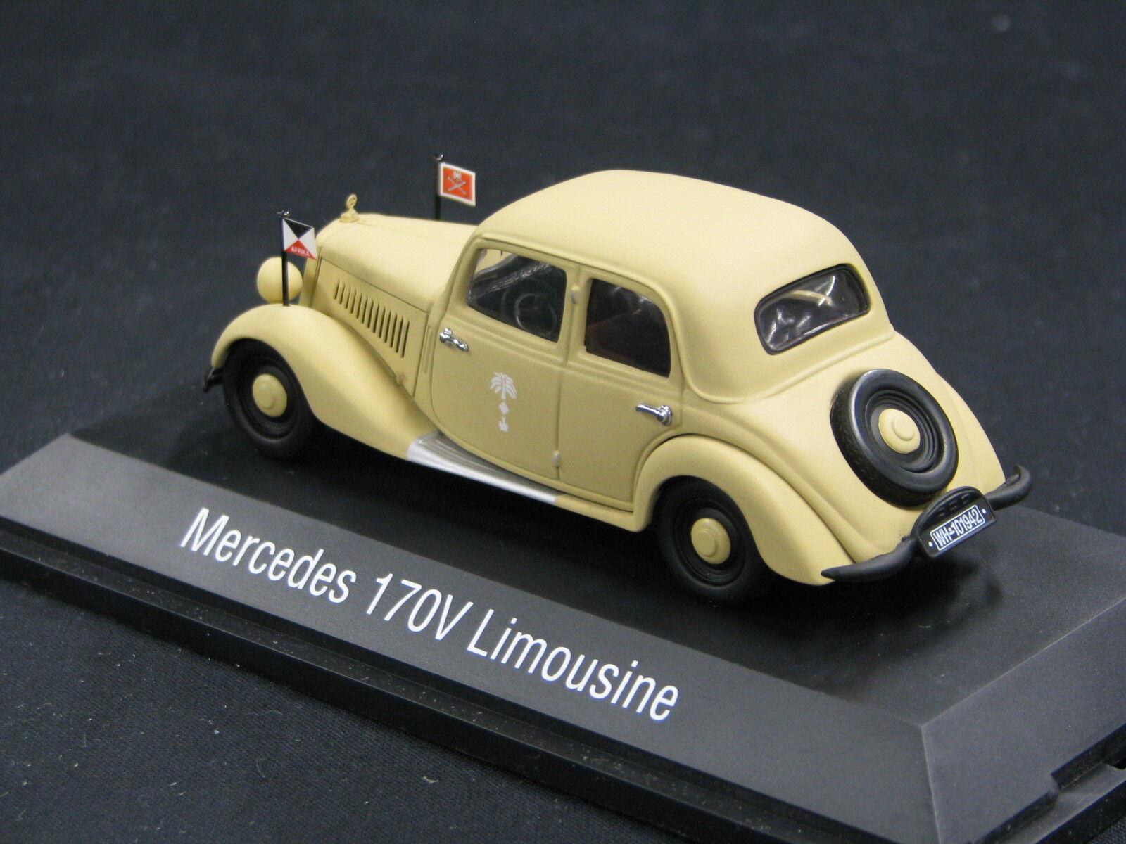 Schuco Mercedes-Benz 170 V Limousine 1 43 43 43 Sand  Wüstenfuchs  (JS) 7a1baa