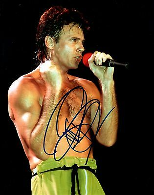 Music Autographs-original Rick Springfield Concert Shirtless Hand Signed 8x10 Photo Autographed W/coa Ample Supply And Prompt Delivery