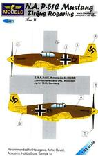 LF Models Decals 1/48 German ZIRKUS ROSARIUS P-51C MUSTANG Part 2