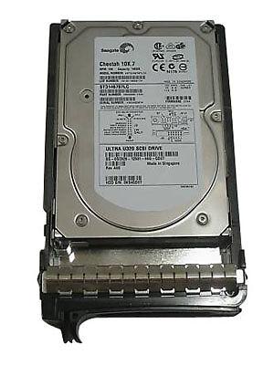 Seagate 146GB SCSI 15K RPM U320 SCA-2 Hard drive Renewed