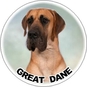 "/""I may not be perfect ......../"" by Starprint Great Dane Dog Fridge Magnet No.5"