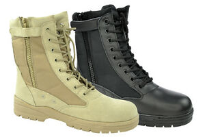 NEW Army Combat Boots Patriot Boots Boots with BW Zip Combat Boots ...