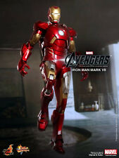 Hot Toys Avengers Iron Man Mark VII 7 Stark 1/6 Scale Figure 3 Day Shipping!