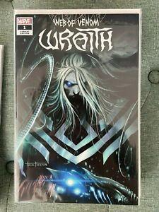Web of Venom Wraith 1 Tyler Kirkham Illuminati Exclusive Trade Variant NM