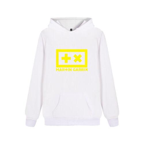 Martin Garrix Long Sleeve Shirt Top DJ LOGO Sweats T-Shirt Jumper Hoodie XXS-4XL
