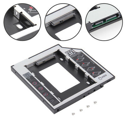 HOT 9 5/12 7mm SATA 2nd SSD HDD Hard Drive Caddy Replacement