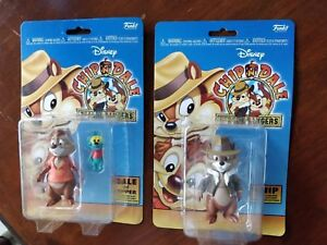 Funko-Disney-Afteroon-4-Inch-Scale-Set-of-2-Chip-Dale-amp-Zipper