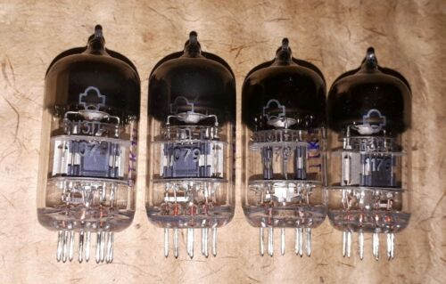 4x 6N3P E 07//1989 NOS NF Double Triode ~ 2C51 5670 WE396A Tube OTK Rare Vintage