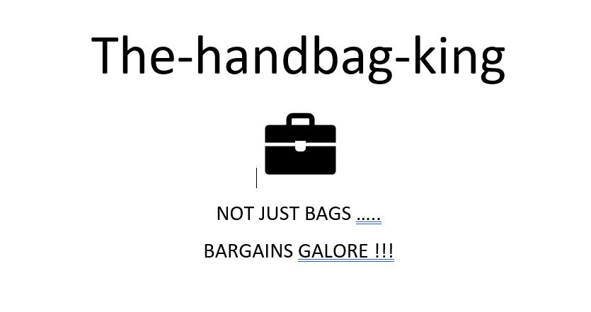 thehandbagking