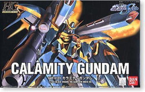 GUNDAM SEED HG 1//144 SCALE CALAMITY GUNDAM GAT-X131 EARLY 1ST RUN COVER ART