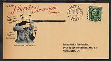 Personalized J Stevens Firearms Ad Reprint Postcard Genuine 1910s Paper *078