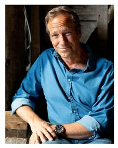 Mike Rowe Signed photo - benefits the mikeroweWORKS Foundation
