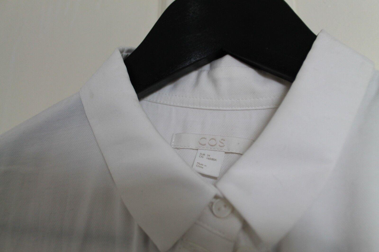 Cos Weiß  Shirt 34 EU   Weiß 8 UK   XS abc113