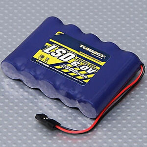 Turnigy-Low-Self-Discharge-RC-Receiver-Battery-Flat-Pack-6-0V-2300mAh-NiMh