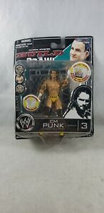 WWE-JAKKS-Pacific-Deluxe-Build-amp-Brawl-CM-PUNK-3-034-Wrestling-Action-Figure