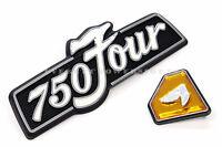 Honda Right Side Cover Emblem Set 72-76 Cb750 K 750 Four Badges W68