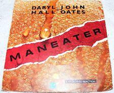 "Daryl  Hall  &  John  Oates  Maneater /  Delayed  Reaction 1982 7""  Vinyl Record"