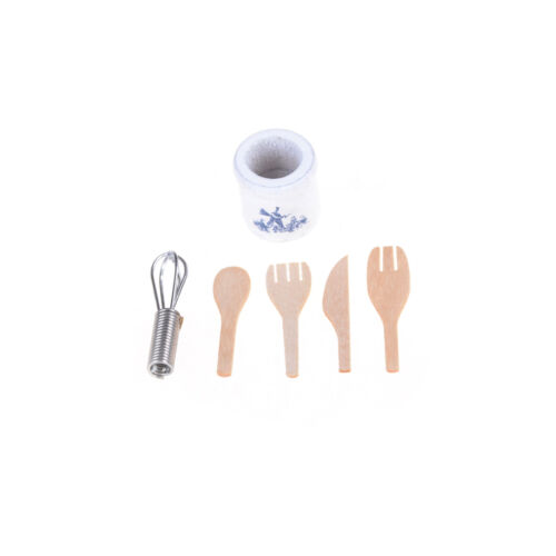1//12 Dollhouse Miniature Kitchenware Set Home Decoration Gifts  he