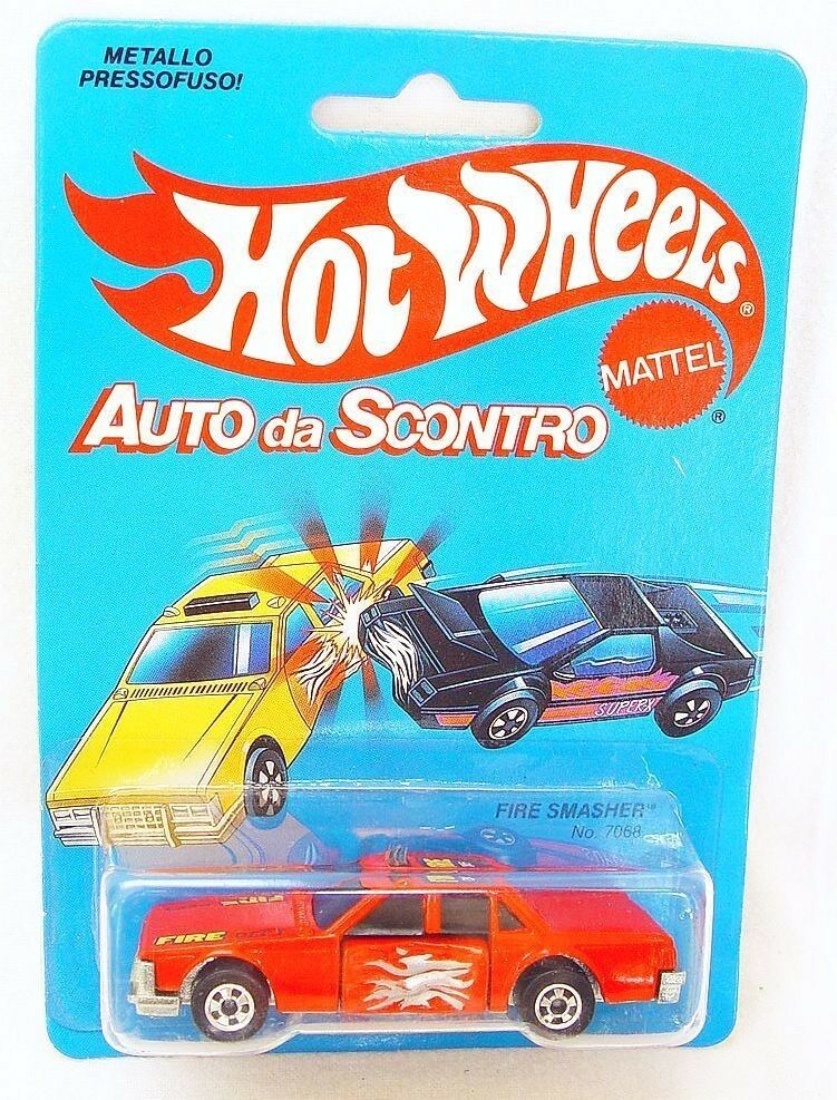 Mattel Hot Wheels 1 64 CRACK UPS  Auto da scontro  fuego Smasher 7068 coche MOC`84