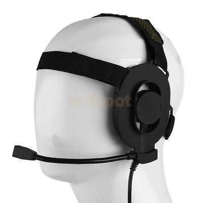 1x HD01 Z Tactical Bowman Elite II Headset U94PTT Fit Kenwood Radio Talkie T2