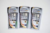 Lot Of Three (3) Monster Hdmi To Micro Hdmi Cable 4ft (1.2 M)