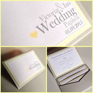 plain simple pocketfold wedding invitations love heart