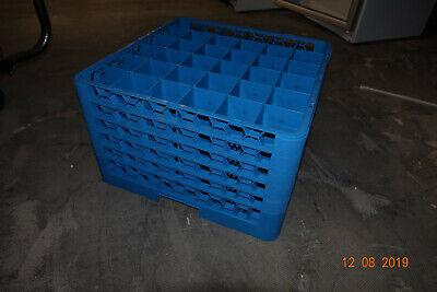 2 Aufsätze Spülkorb Glaskorb Tassenkorb Rack Gläserspülkorb Korb 50x50 7x7