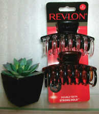 Revlon Strong Hold Hair Claw Clips 4 Count