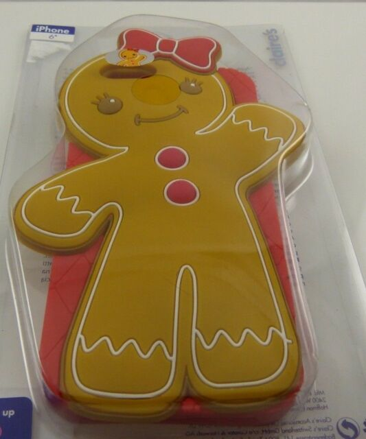 fits iPhone 6 phone case Christmas Gingerbread girl bow light up