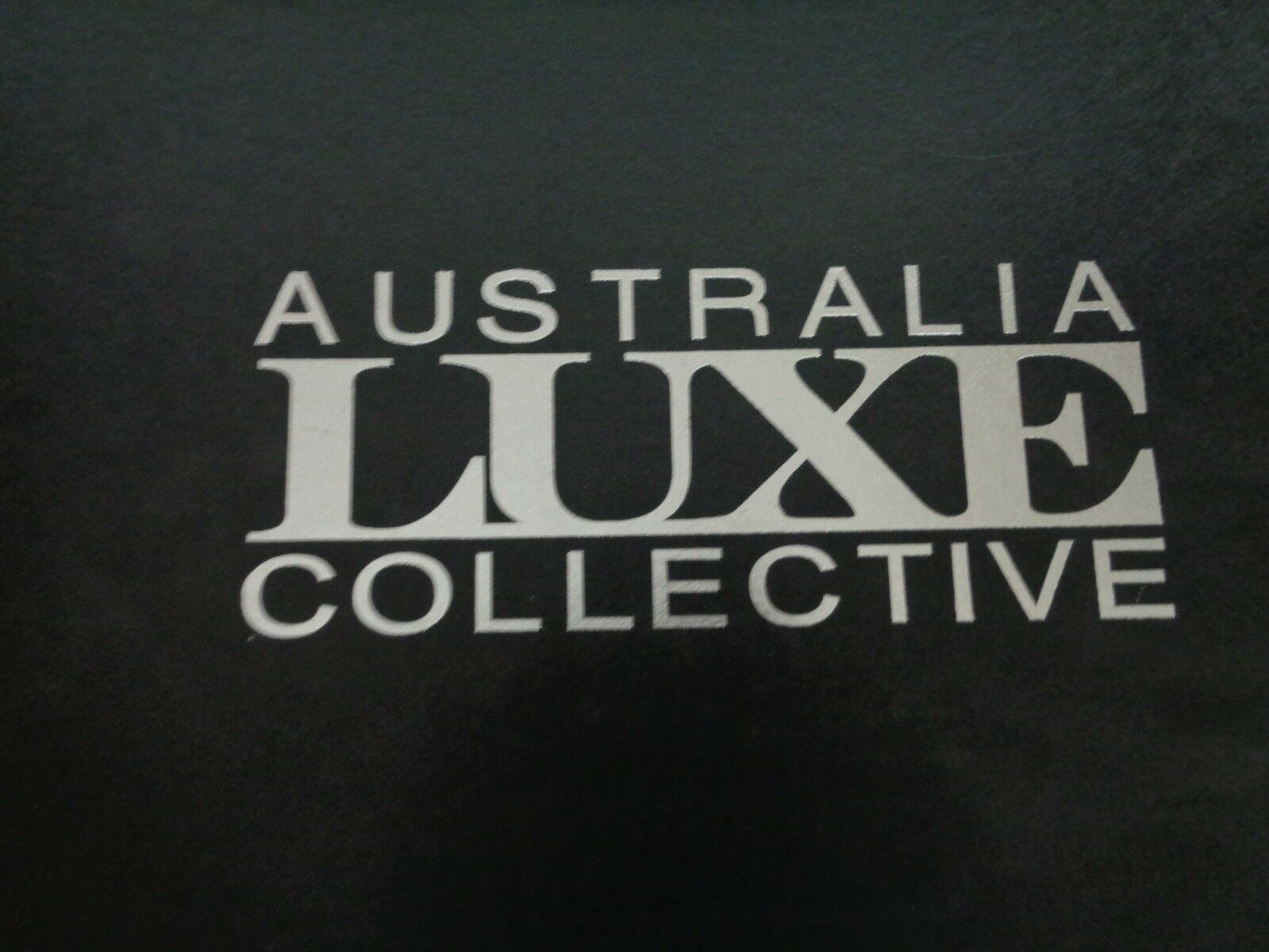 BN boxed Australia Luxe Collective Women's earth nylon black snow boot size 5