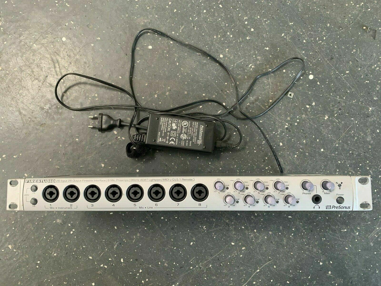 PreSonus FIRESTUDIO 26 26 Audio-Interface Firewire 19  Zoll Adat Adat Adat fd8f75