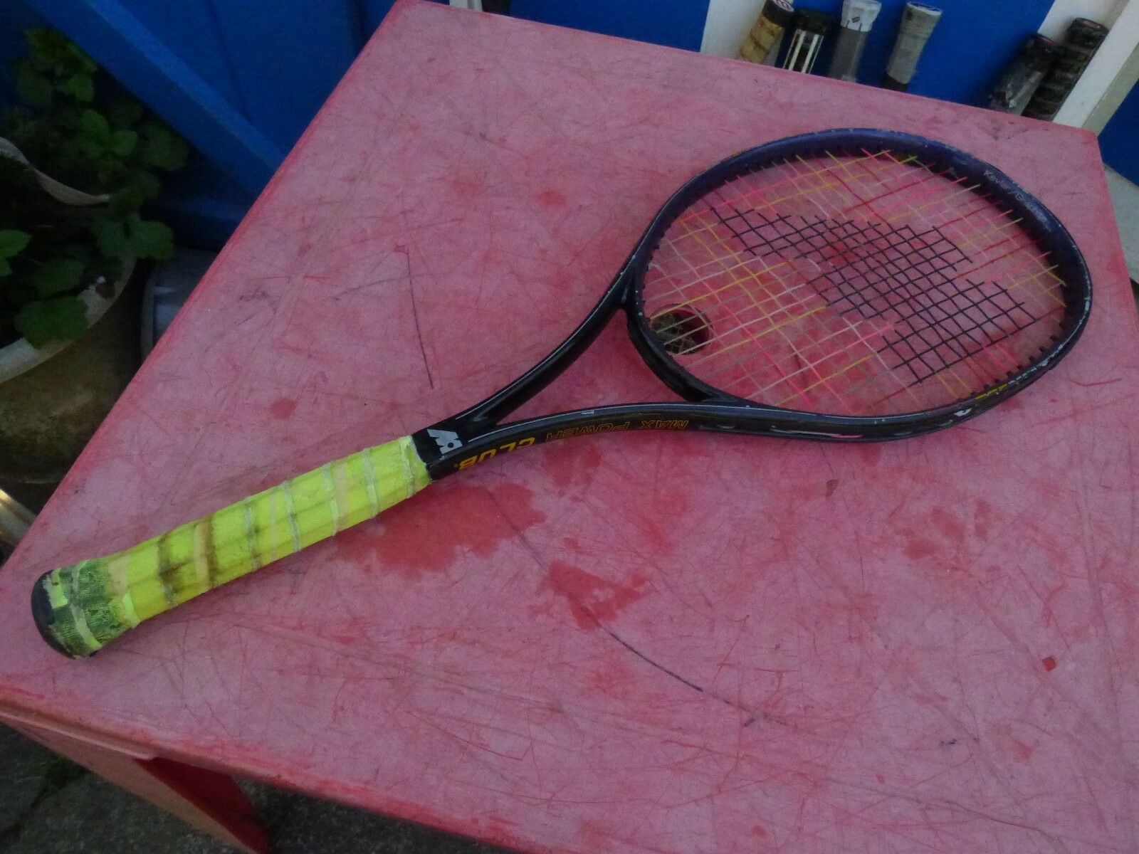 Raquette de tennis Mazuka Max Power Club vintage