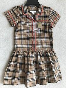 e8cb056f4156 Image is loading Burberry-Children-Dress-Girl-10-years