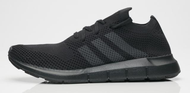 4c58c97e327 New adidas Swift Run PK Primeknit CQ2893 Core BLACK Grey Five Mens Shoes n1