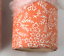 Lot-of-2-SCHUMACHER-Coral-amp-White-Small-Floral-Print-Wallpaper-20-5-034-x-14-Yds thumbnail 4